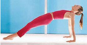 女人瑜珈事7招从头瘦到脚