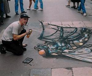 史上最帅的街头艺术立体画