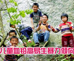 儿童血铅高易生暴力倾向