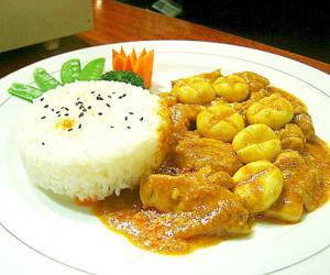 咖喱配鸡肉最佳健康搭配