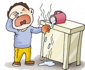 科学使用康复新液 处置烧